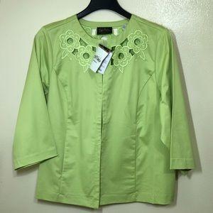 🔵 Bob Mackie Wearable Art Embroidered Jacket